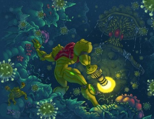 Samus Spore Encounter